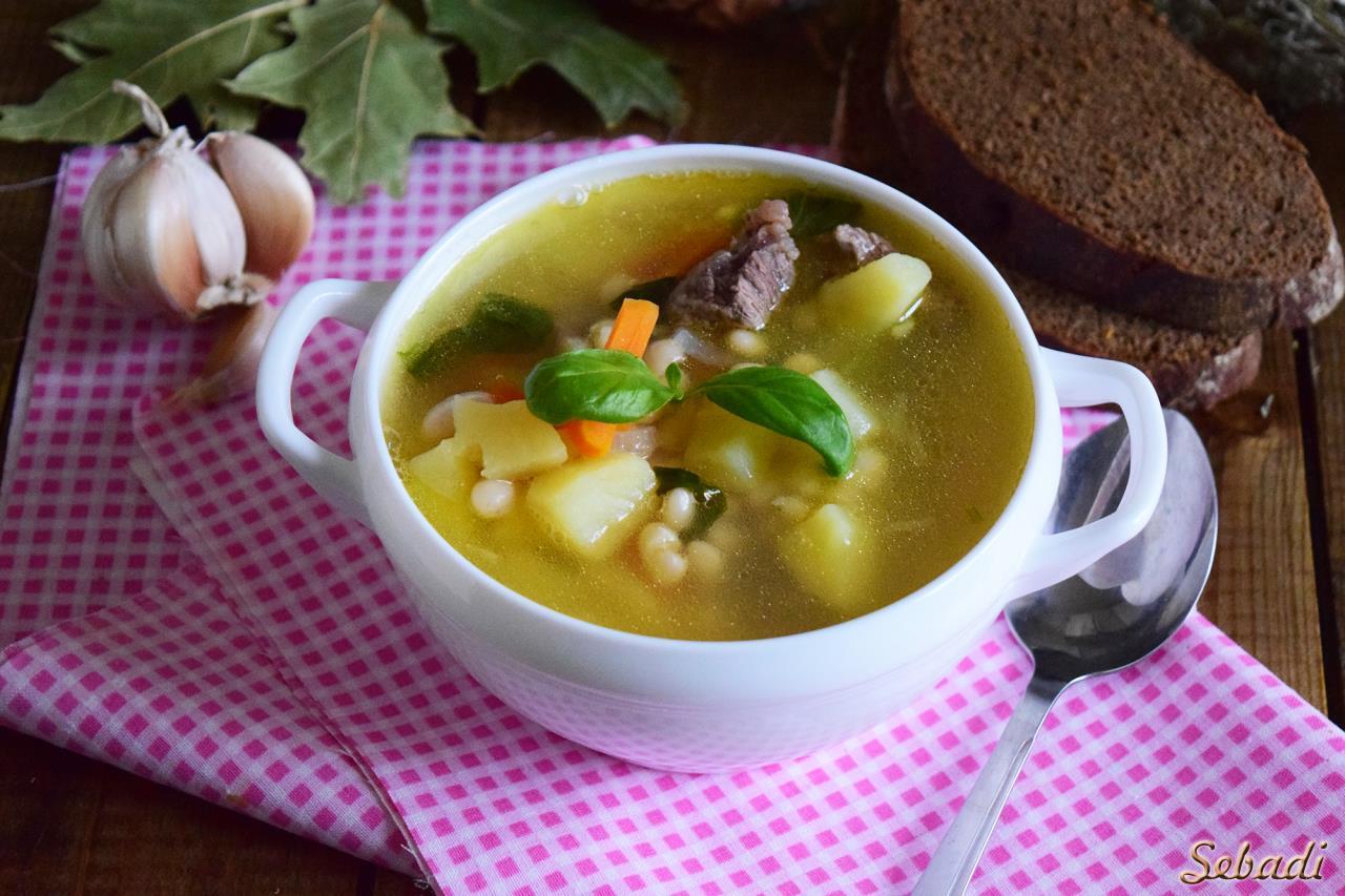 Фасолевый суп с курицей пошаговый рецепт в