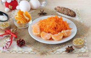 Морковно-мандаринового кекса