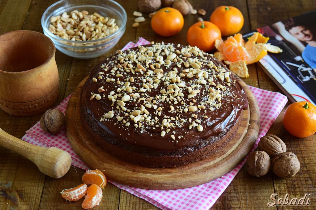 Рецепт влажного шоколадного пирога без яиц