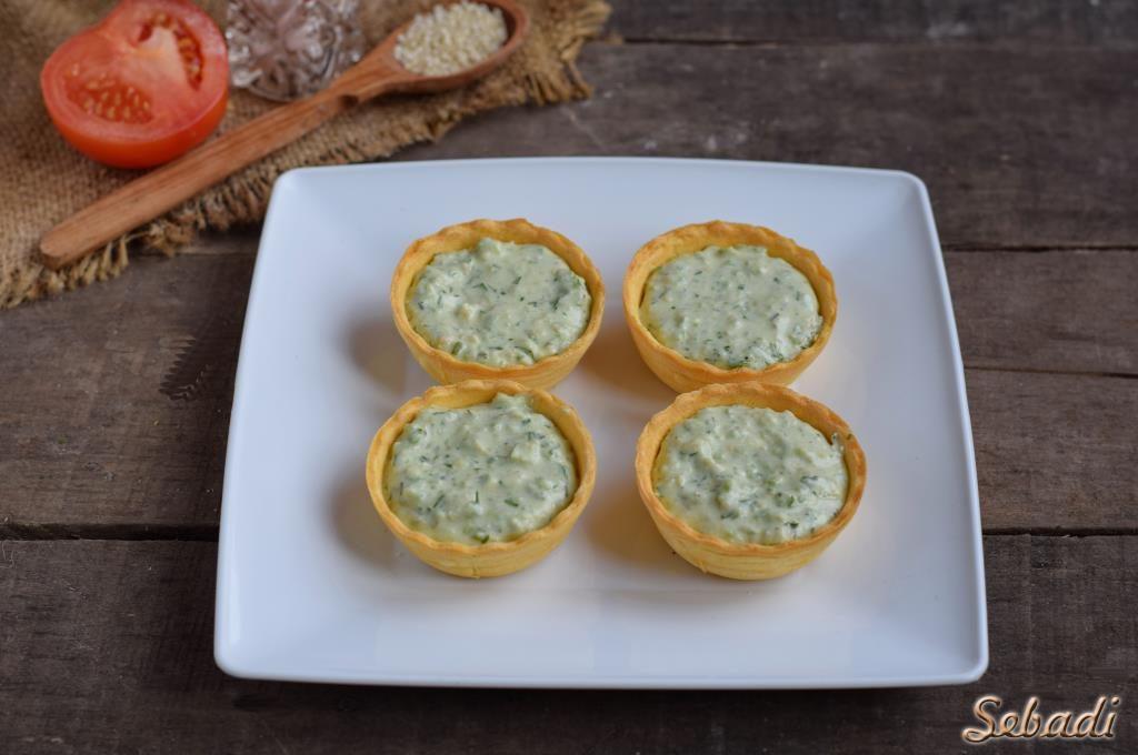 Закуска с авокадо и сыром Фета