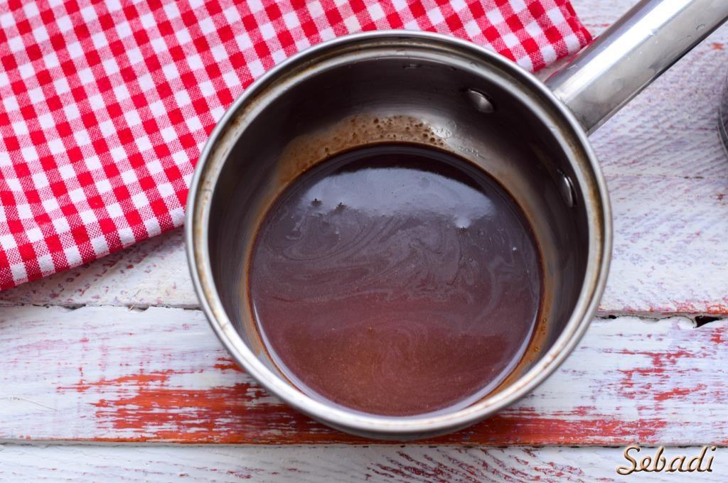 Карамельно-шоколадный кофе